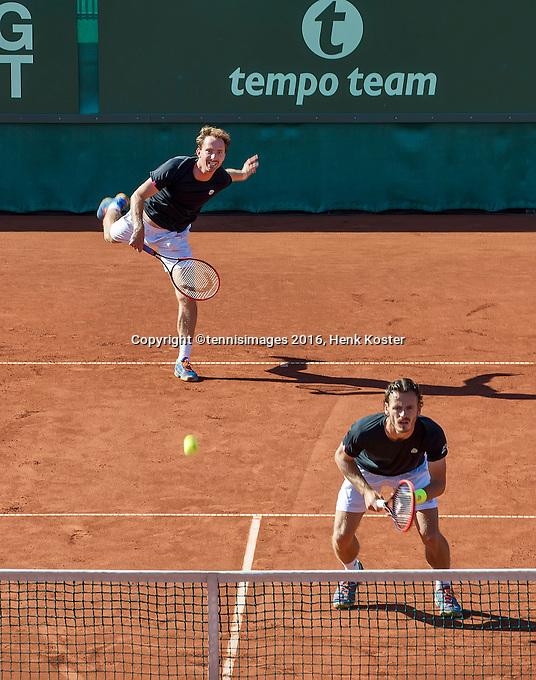 The Hague, Netherlands, 31 July, 2016, Tennis,  The Hague Open, Doubles Final:  Matwe Middelkoop (NED) / Wesley Koolhof (NED) (R)<br /> Photo: Henk Koster/tennisimages.com