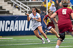 STONY BROOK, NY - MAY 27: Emma Johnson #1 of the James Madison Dukes during the Division I Women's Lacrosse Championship held at Kenneth P. LaValle Stadium on May 27, 2018 in Stony Brook, New York. (Photo by Ben Solomon/NCAA Photos via Getty Images)