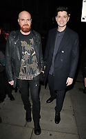 Mark Sheehan and Danny O'Donoghue of The Script at the Music Industry Trusts Awards 2018, Grosvenor House Hotel, Park Lane, London, England, UK, on Monday 05 November 2018.<br /> CAP/CAN<br /> &copy;CAN/Capital Pictures