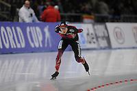 SCHAATSEN: BERLIJN: Sportforum Berlin, 06-12-2014, ISU World Cup, Alexej Baumgärtner (GER), ©foto Martin de Jong