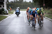 Anthony Turgis (FRA/Total Direct Energie) leading the front group <br /> <br /> 99th Brussels Cycling Classic 2019<br /> One Day Race: Brussels > Brussels 189.4km<br /> <br /> ©kramon
