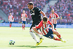 Atletico de Madrid's Luciano Vietto and Sevilla's Gabriel Mercado during La Liga match between Atletico de Madrid and Sevilla FC at Wanda Metropolitano Stadium in Madrid, Spain September 23, 2017. (ALTERPHOTOS/Borja B.Hojas)