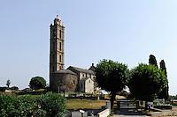 Barockkirche San Nicolao in der Castaniccia, Korsika, Frankreich