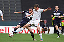 James Dunne of Stevenage competes with Stephen Gleeson of Milton Keynes. MK Dons v Stevenage - npower League 1 - Stadium MK,  Milton Keynes - 20th October, 2012. © Kevin Coleman 2012