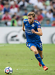 Leicester City FC defender Callum Elder in action during the Premier League Asia Trophy match between Leicester City FC and West Bromwich Albion at Hong Kong Stadium on 19 July 2017, in Hong Kong, China. Photo by Weixiang Lim / Power Sport Images