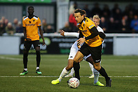 Ryan Johnson of Maidstone United in action during Maidstone United vs Torquay United, Emirates FA Cup Football at the Gallagher Stadium on 9th November 2019