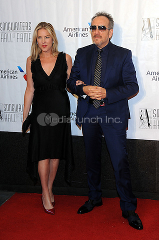 NEW YORK, NY - JUNE 09: Diana Krall and Elvis Costello attends the 47th Annual Songwriters Hall Of Fame Induction And Awards Gala at The New York Marriott Marquis on June 9, 2016 in New York City.  Photo Credit:John Palmer/ Media Punch