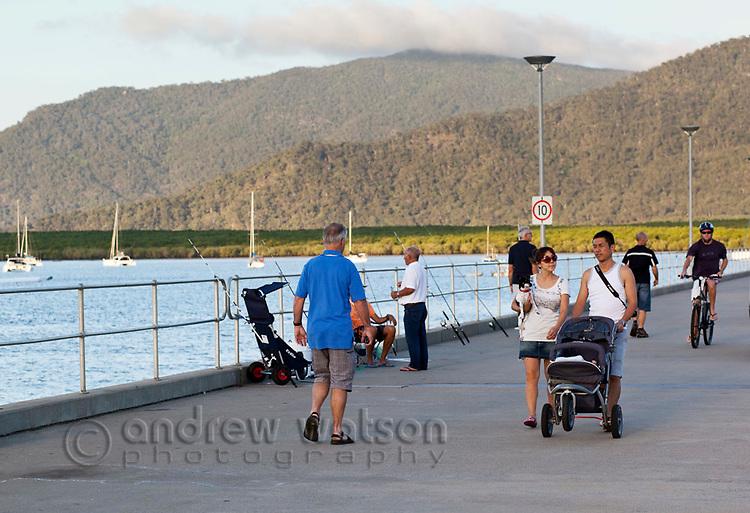 Marlin Marina jetty.  Cairns, Queensland, Australia