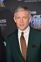 "Martin Freeman at the world premiere for ""Black Panther"" at the Dolby Theatre, Hollywood, USA 29 Jan. 2018<br /> Picture: Paul Smith/Featureflash/SilverHub 0208 004 5359 sales@silverhubmedia.com"