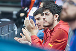 Spain Dario Brizuela and Edgar Vicedo during European Qualifiers to China 2019 World Cup match between Spain and Montenegro at Principe Felipe Stadium in Zaragoza , Spain. February 22, 2018. (ALTERPHOTOS/Borja B.Hojas)