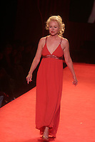 MICHELLE PHILLIPS 2006<br /> THE HEART TRUTH''  RED DRESS COLLECTION FASHION SHOW AT BRYANT PARK<br /> Photo By John Barrett/PHOTOlink.net