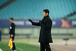 Jiangsu FC Head Coach Choi Yong Soo gestures during the AFC Champions League 2017 Group H match between Jiangsu FC (CHN) vs Adelaide United (AUS) at the Nanjing Olympics Sports Center on 01 March 2017 in Nanjing, China. Photo by Marcio Rodrigo Machado / Power Sport Images