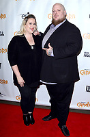 """LOS ANGELES - SEP 17:  Carly Cooper, Robert Cooper at the """"Candy Corn"""" Hollywood Premiere at the TCL Chinese 6 Theater on September 17, 2019 in Los Angeles, CA"""