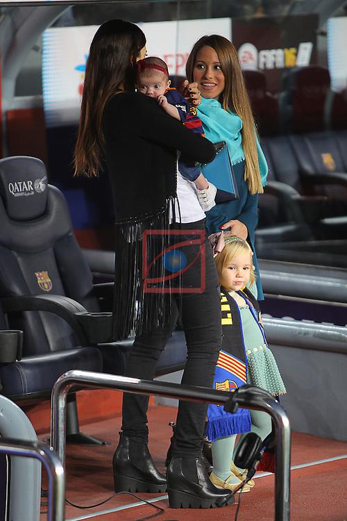 League BBVA 2015/2016 - Game: 9.<br /> FC Barcelona vs S.D. Eibar: 3-1.<br /> Melissa Jimenez &amp; Raquel Mauri.