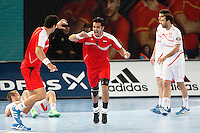 Spain and Egypt during 23rd Men's Handball World Championship preliminary round match, in the pic: Islam Hassan. January 14 ,2013. (ALTERPHOTOS/Caro Marin) /NortePhoto