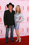 UNIVERSAL CITY, CA. - April 19: Clint Black and Lisa Hartman arrive at the 2009 TV Land Awards at the Gibson Amphitheatre on April 19, 2009 in Universal City, California.