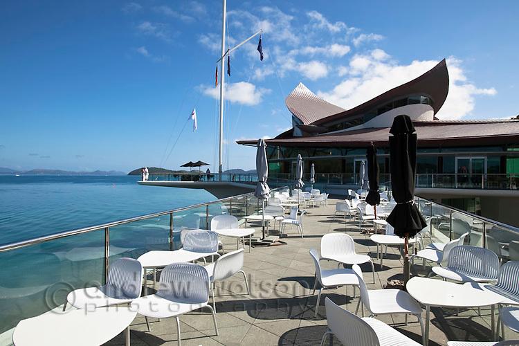 Hamilton Island Yacht Club.  Hamilton Island, Whitsundays, Queensland, Australia