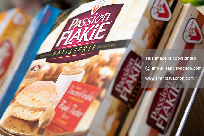 Passion Flakie Vachon cake are seen on display in a convenient store in Quebec City February 26, 2009