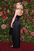 Clara Paget<br /> arriving for the 2018 Evening Standard Theatre Awards at the Theatre Royal Drury Lane, London<br /> <br /> ©Ash Knotek  D3460  18/11/2018