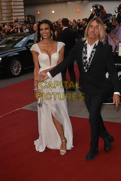 LONDON, ENGLAND SEPTEMBER 02: Nina Alu; Iggy Pop attend the GQ Men of the Year 2014 awards in association with Hugo Boss at The Royal Opera House on September 2, 2014 in London, England.<br /> CAP/PL<br /> &copy;Phil Loftus/Capital Pictures
