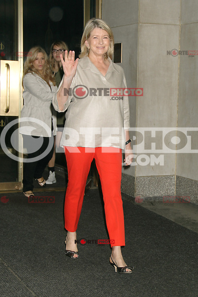 May 09, 2012 Martha Stewart seen at NBC's Today Show in New York City. Credit: RW/MediaPunch Inc.