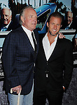 "HOLLYWOOD, CA - MARCH 22: James Caan and Scott Caan attend HBO's ""His Way"" Los Angeles Premiere at Paramount Theater on the Paramount Studios lot on March 22, 2011 in Hollywood, California."
