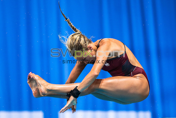 Picture by Alex Whitehead/SWpix.com - 31/07/2014 - 2014 Glasgow Commonwealth Games, Day 8 - Diving - Royal Commonwealth Pool, Edinburgh, Scotland - England's Tonia Couch competes in the Women's 10m Platform prelims.