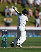 1st December 2017, Basin Reserve, Wellington, New Zealand; International Test Cricket, Day 1, New Zealand versus West Indies;  Ross Taylor batting