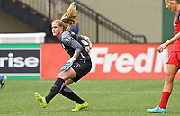 Portland, OR - Saturday April 29, 2017: Alyssa Naeher during a regular season National Women's Soccer League (NWSL) match between the Portland Thorns FC and the Chicago Red Stars at Providence Park.