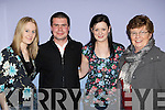 Sarah Piggot, Sean Joy, Michelle Mangan and Mona Joy Killorglin enjoying the Red Cross concert in aid of Haiti on Saturday.