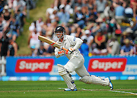 BJ Watling in action during day one of the 2nd cricket test match between the New Zealand Black Caps and Sri Lanka at the Hawkins Basin Reserve, Wellington, New Zealand on Saturday, 3 February 2015. Photo: Dave Lintott / lintottphoto.co.nz