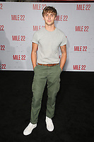 "9 August 2018-  Westwood, California - KJ Apa. Premiere Of STX Films' ""Mile 22"" held at The Regency Village Theatre. Photo Credit: Faye Sadou/AdMedia"