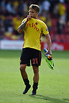 Kiko Femenia of Watford at the end of the premier league match at the Vicarage Road Stadium, Watford. Picture date 26th August 2017. Picture credit should read: Robin Parker/Sportimage