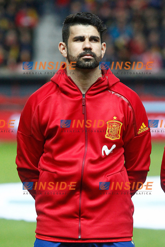 Spain's Diego Costa during FIFA World Cup 2018 Qualifying Round match. <br /> Gijon 24-03-2017 Stadio El Molinon <br /> Qualificazioni Mondiali <br /> Spagna - Israele <br /> Foto Acero/Alterphotos/Insidefoto <br /> ITALY ONLY