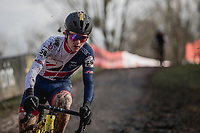 Thomas Pidcock (GBR/Telenet Fidea Lions)<br /> <br /> Men U23 Race<br /> UCI CX Worlds 2018<br /> Valkenburg - The Netherlands