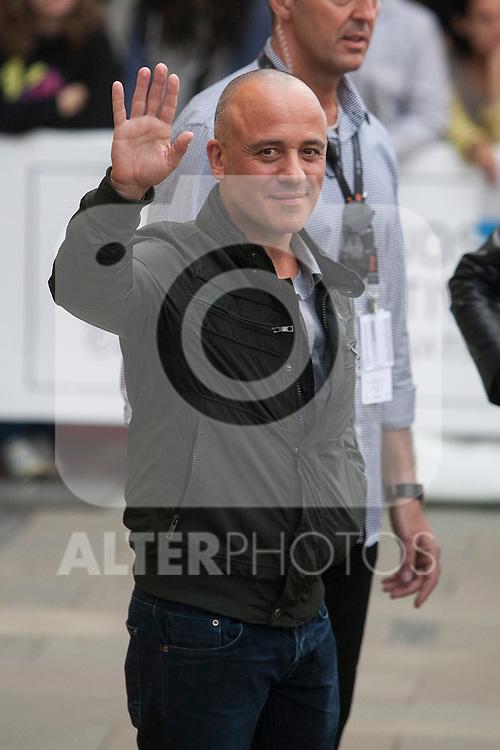 Javier Gutiérrez arrives to Maria Cristina hotel during 63rd Donostia Zinemaldia (San Sebastian International Film Festival) in San Sebastian, Spain. September 21, 2015. (ALTERPHOTOS/Victor Blanco)