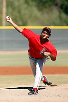 Orangel Arenas - Los Angeles Angels, 2009 Instructional League.Photo by:  Bill Mitchell/Four Seam Images..