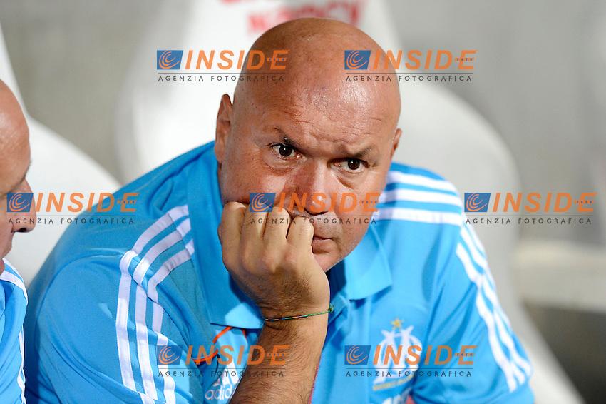06-09-2013 L'allenatore del Marsiglia Jose Anigo, il cui figlio e' stato assassinato con vari colpi di pistola in strada.<br /> Photo G. Ramon / Panoramic / Insidefoto<br /> ITALY ONLY