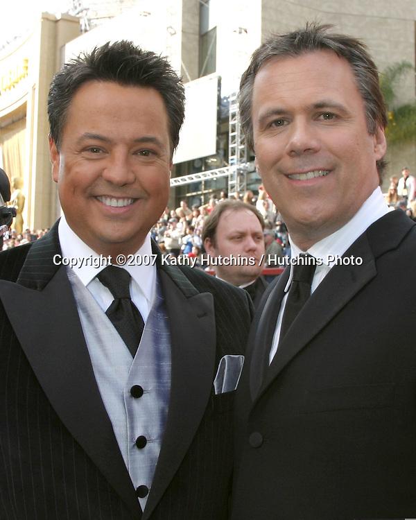 George Pennachio & Robert Roper.79th Annual Academy Awards.Kodak Theater .Hollywood & Highland.Hollywood, CA.February 25, 2007.©2007 Kathy Hutchins / Hutchins Photo....