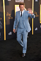 LOS ANGELES, CA. September 24, 2018: Bradley Cooper at the Los Angeles premiere for &quot;A Star Is Born&quot; at the Shrine Auditorium.<br /> Picture: Paul Smith/Featureflash