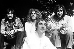 The Who 1971 John Entwistle, Roger Daltrey, Keith Moon and Pete Townshend.© Chris Walter.