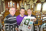 Fr Tom Leane, Brendan Moriarty and Michael O'Halloran, with the new book on the history of Ballyheigue Parish.