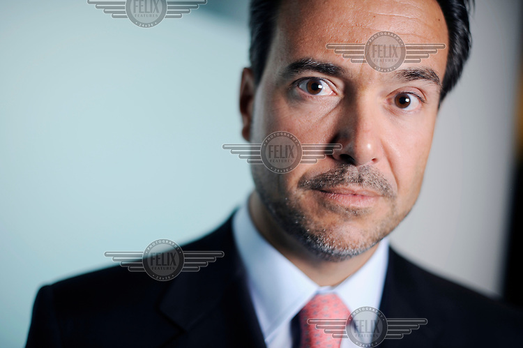 Antonio Horta-Osorio, Chief Executive of Santander Abbey National bank, pictured in London. In November 2010 he was named Lloyds Banking Group's next chief executive.