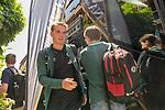 04.07.2019, Posthotel, Zell am Ziller, AUT, TL Werder Bremen - Posthotel Ankunft Tag 00<br /> <br /> im Bild / picture shows <br /> <br /> Luca Plogmann (Werder Bremen #40)<br /> Foto © nordphoto / Kokenge