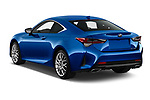 Car pictures of rear three quarter view of a 2019 Lexus RC 350 2 Door Coupe angular rear