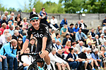 Peter Kennaugh (GBR) Team Sky at sign on before the start of Stage 6 of the Criterium du Dauphine 2017, running 147.5km from Parc des Oiseaux - Villars-les-Dombes to La Motte-Servolex, France. 9th June 2017. <br /> Picture: ASO/A.Broadway | Cyclefile<br /> <br /> <br /> All photos usage must carry mandatory copyright credit (&copy; Cyclefile | ASO/A.Broadway)