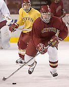 Andrew Thomas (Adrian Veideman)  Reigning national champions (2004 and 2005) University of Denver Pioneers practice on Friday morning, December 30, 2005 before hosting the Denver Cup at Magness Arena in Denver, CO.