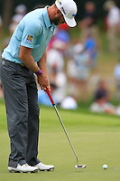 Graham DeLaet (CAN) takes his putt on the 8th green during Thursday's Round 1 of the 2014 PGA Championship held at the Valhalla Club, Louisville, Kentucky.: Picture Eoin Clarke, www.golffile.ie: 7th August 2014