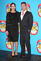 Simon Cowell and Lauren Silverman arriving for the I Can't Sing Press Night, at the Paladium, London. 26/03/2014 Picture by: Alexandra Glen / Featureflash