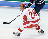 Sahir Gill (BU - 28) - The Boston University Terriers defeated the visiting University of Toronto Varsity Blues 9-3 on Saturday, October 2, 2010, at Agganis Arena in Boston, MA.